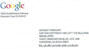 Google Snail Mail SPAM