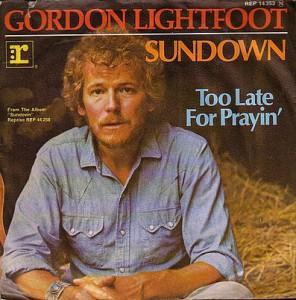 gordon lightfoot sundown