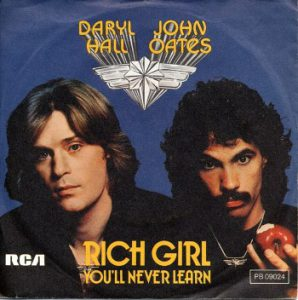 Hall & Oates Rich Girl