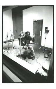 Scott during the recording of Supercharged