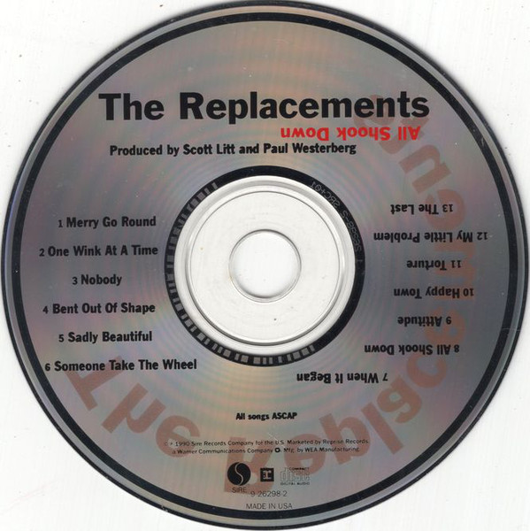 Certain Songs 1903 The Replacements Attitude Who feels my flesh when i am gone. certain songs 1903 the replacements